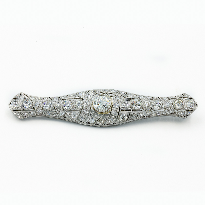 diamond bar pin