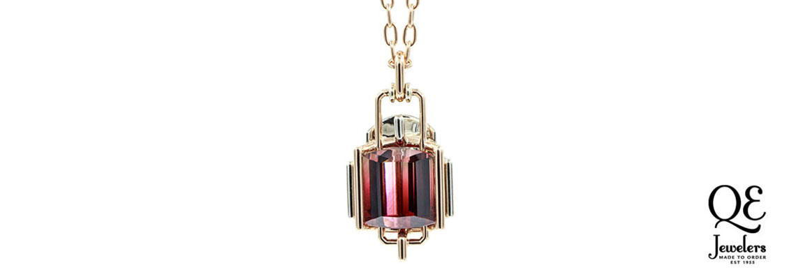 tourmaline pendant for competition